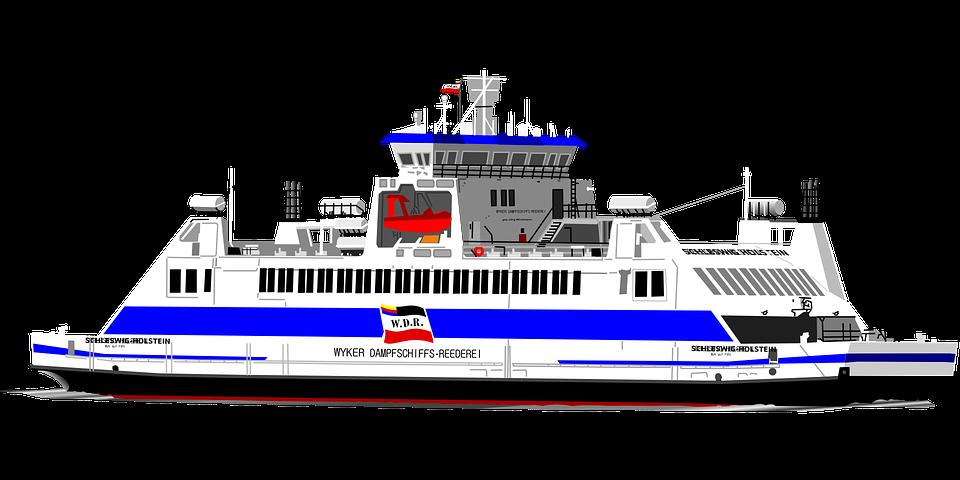 Ferry, Boat.