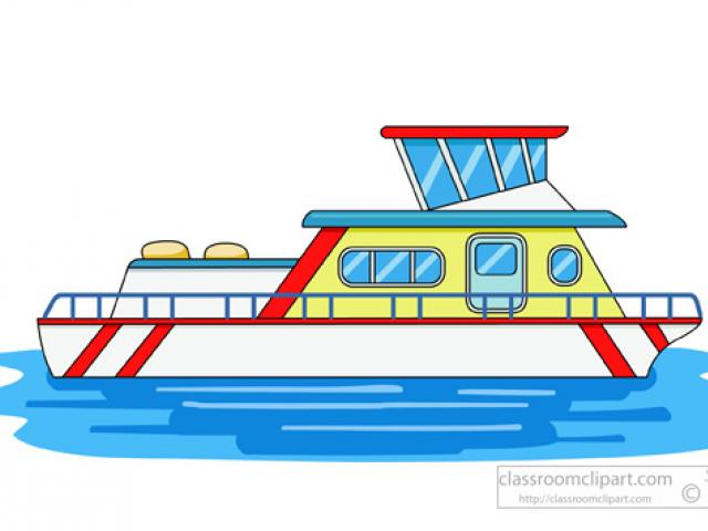 Ferry Boat Drawing.