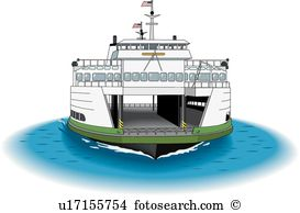 Ferry Clipart Vector Graphics. 789 ferry EPS clip art vector and.
