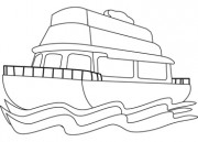 Ferry clipart black and white 8 » Clipart Station.