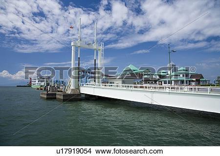 Stock Photo of Kumamoto Port Ferry Terminal, Kumamoto, Kumamoto.