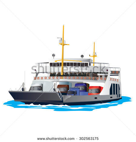 Clipart ferry boat.