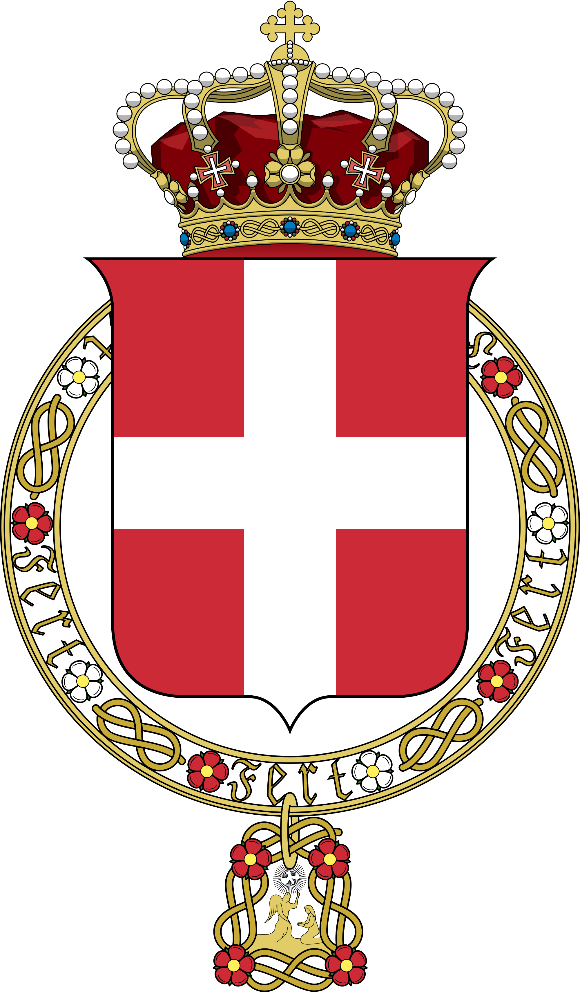 File:Lesser coat of arms of the Kingdom of Italy (1890).svg.