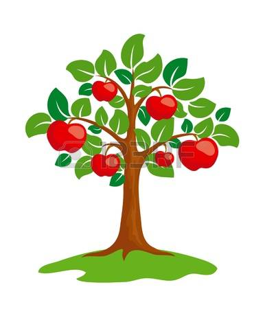 apple tree clipart images #14