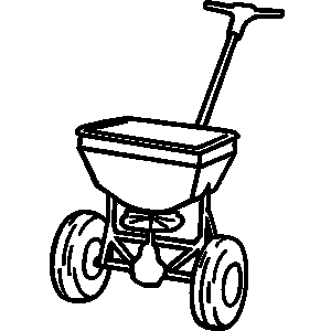 Fertilize Lawn Clip Art.
