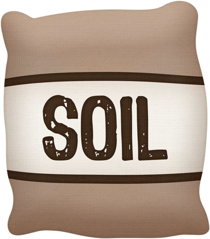 Soil Bag Clipart.