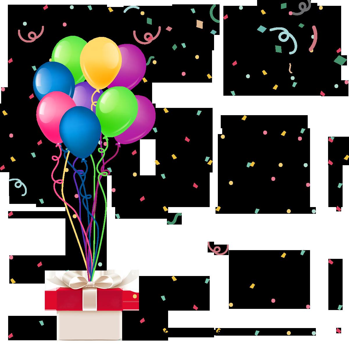 Cor Colorido Balão De Festa De Aniversário Alegria Linda Fantasia De.