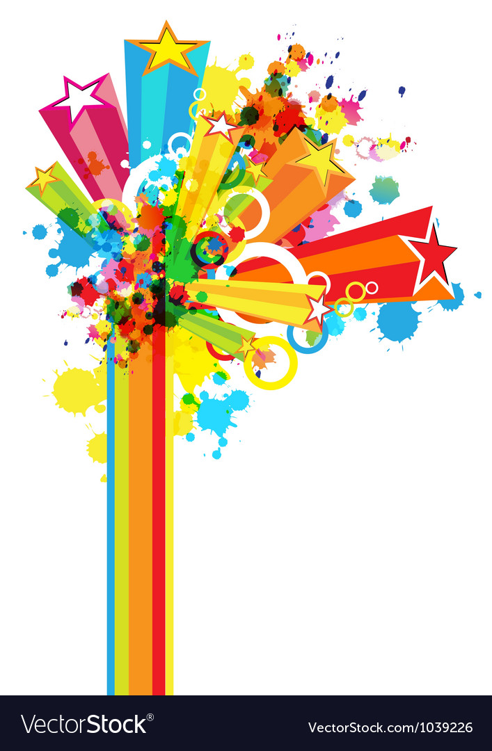 Abstract colorful festival decoration background.