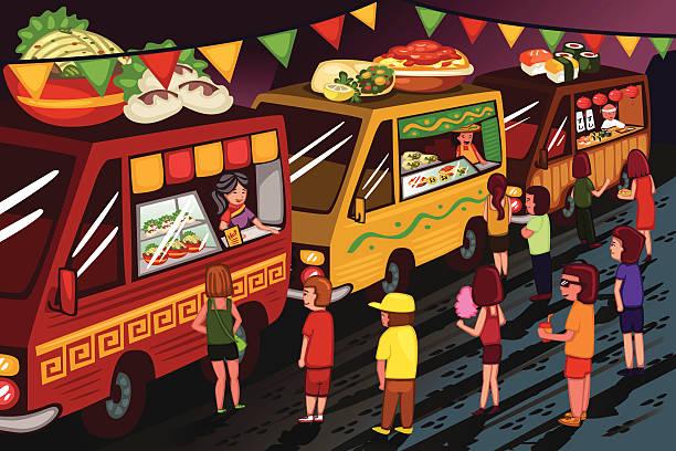 Festival Food Clip Art, Vector Images & Illustrations.