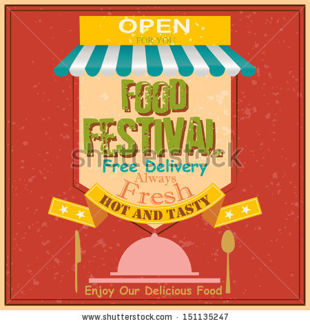 Food Festival Stock Vectors, Images & Vector Art.