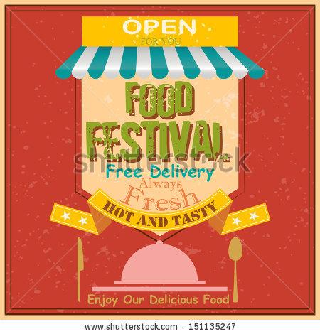 Food Festival Stock Vectors, Images & Vector Art.