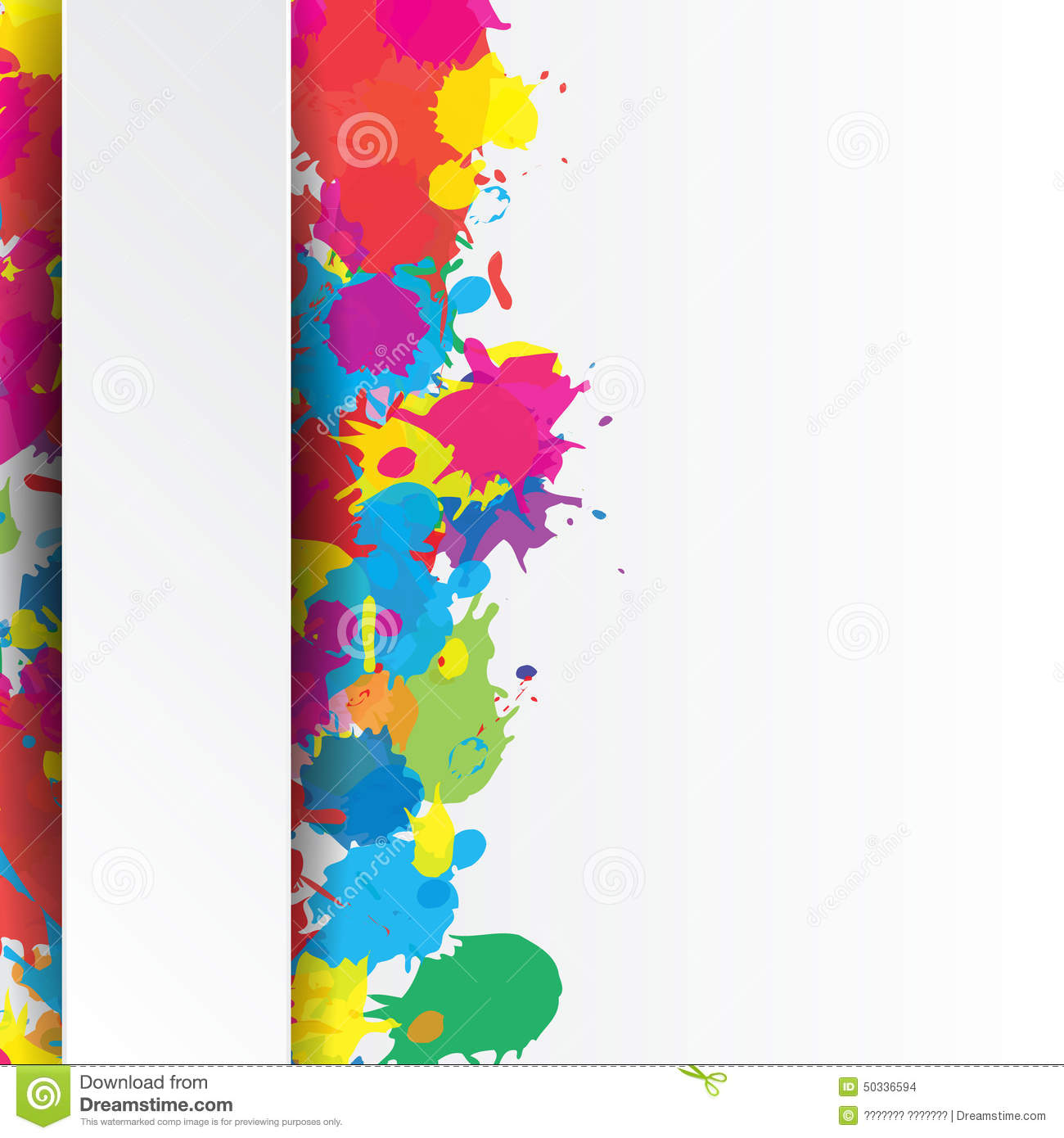 Indian Holi Colors Stock Illustrations.