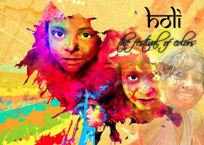 The Incredible Holi Festival of Colors Page.