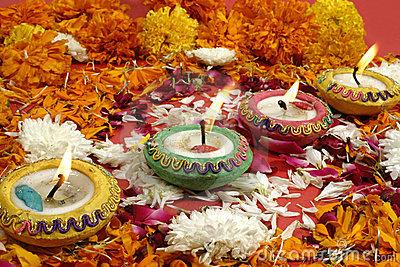 Diwali, Festival Of Lights Royalty Free Stock Photos.