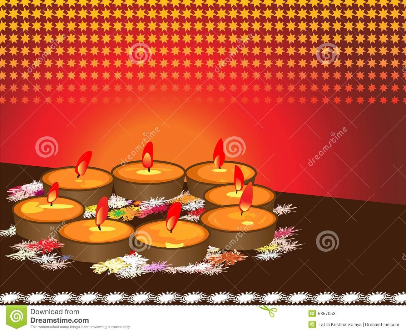 Diwali, The Festival Of Lights Stock Photos.