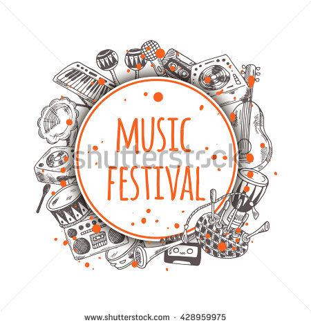 Music Festival Stock Photos, Royalty.