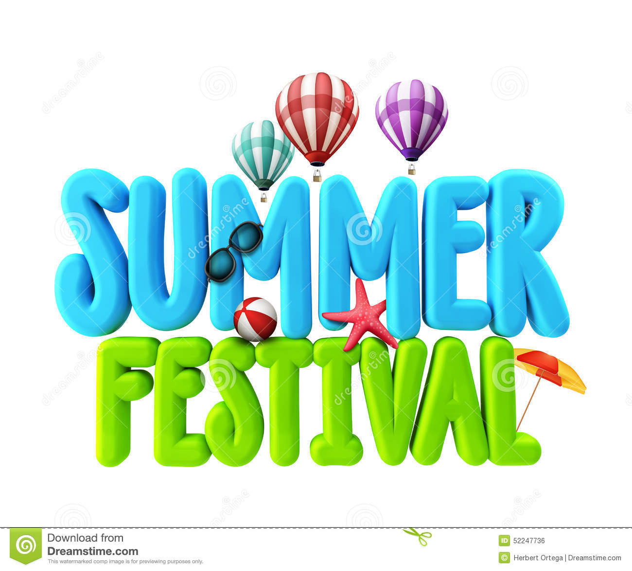 Festivals and Events Clip Art.