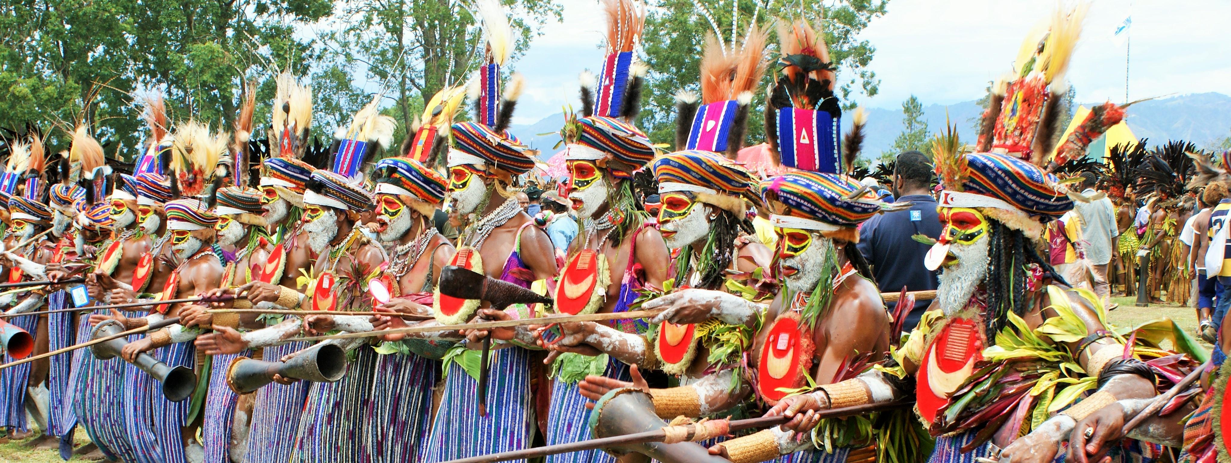 PNG cultural festivals tour.