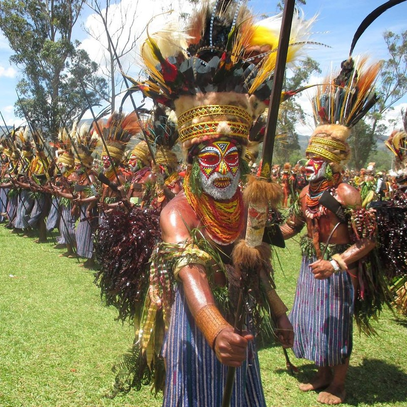Festivals and Tourism in Papua New Guinea.