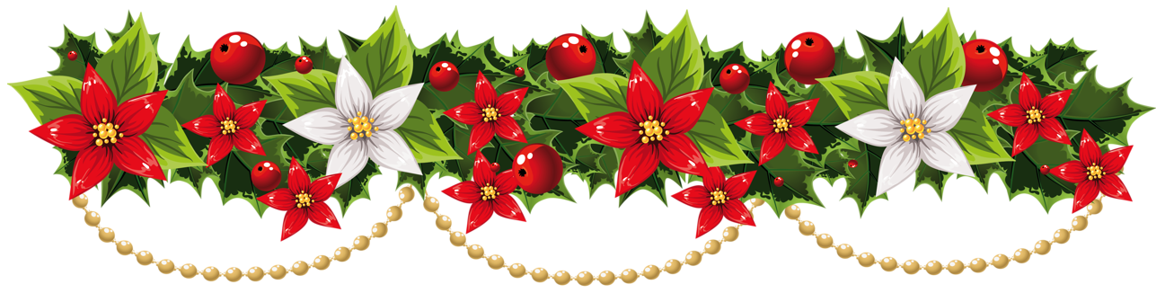 Christmas Garland Clip Art & Christmas Garland Clip Art Clip Art.