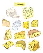Feta Cheese Clip Art.