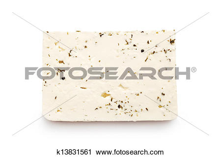 Stock Photography of feta cheese k13831561.