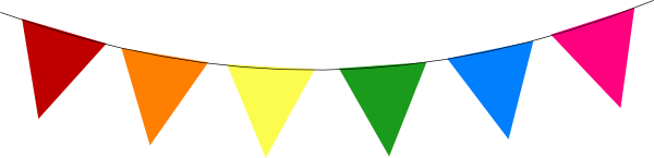 Image of Bunting Clipart #5658, Fete Bunting Clip Art At Vector.