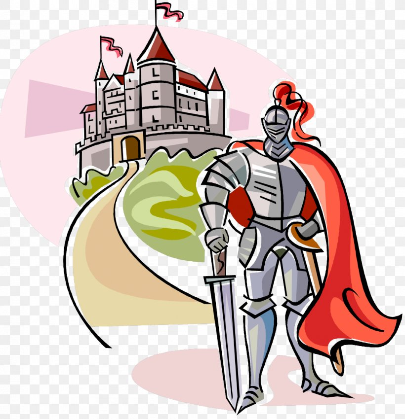 Middle Ages Knights & Castles Clip Art, PNG, 1092x1132px.