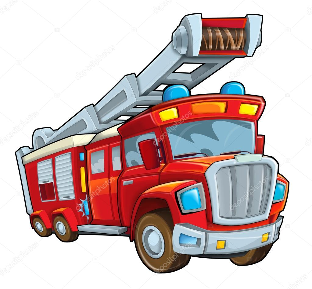 Feuerwehrauto clipart 6 » Clipart Station.