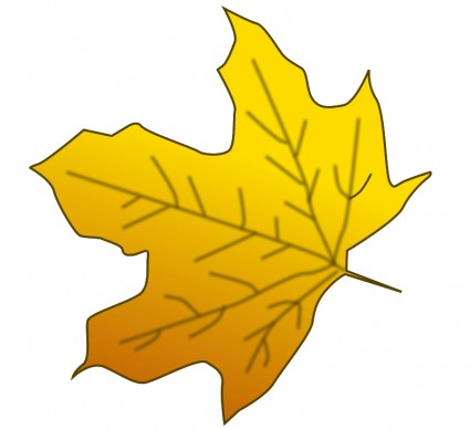 Clipart feuille 1 » Clipart Station.