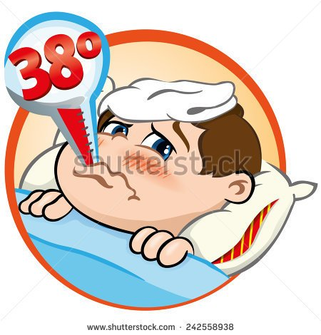 Thermometer Fever Clip Art.