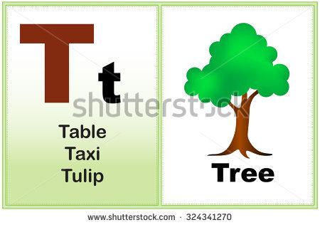 Alphabet Letter T Clipart Few Similar Stock Vector 232409479.