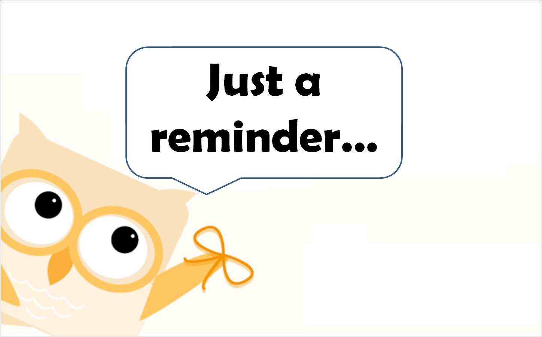 Clip Art Calendar Reminder : Reminder clipart clipground
