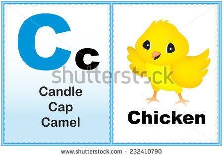 Alphabet Letter C Clipart Few Similar Stock Vector 232410790.