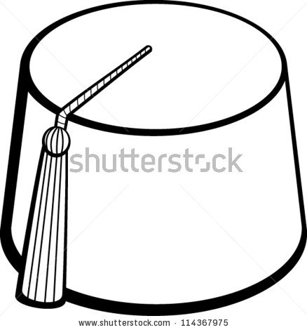 Vector Images, Illustrations and Cliparts: fez hat.