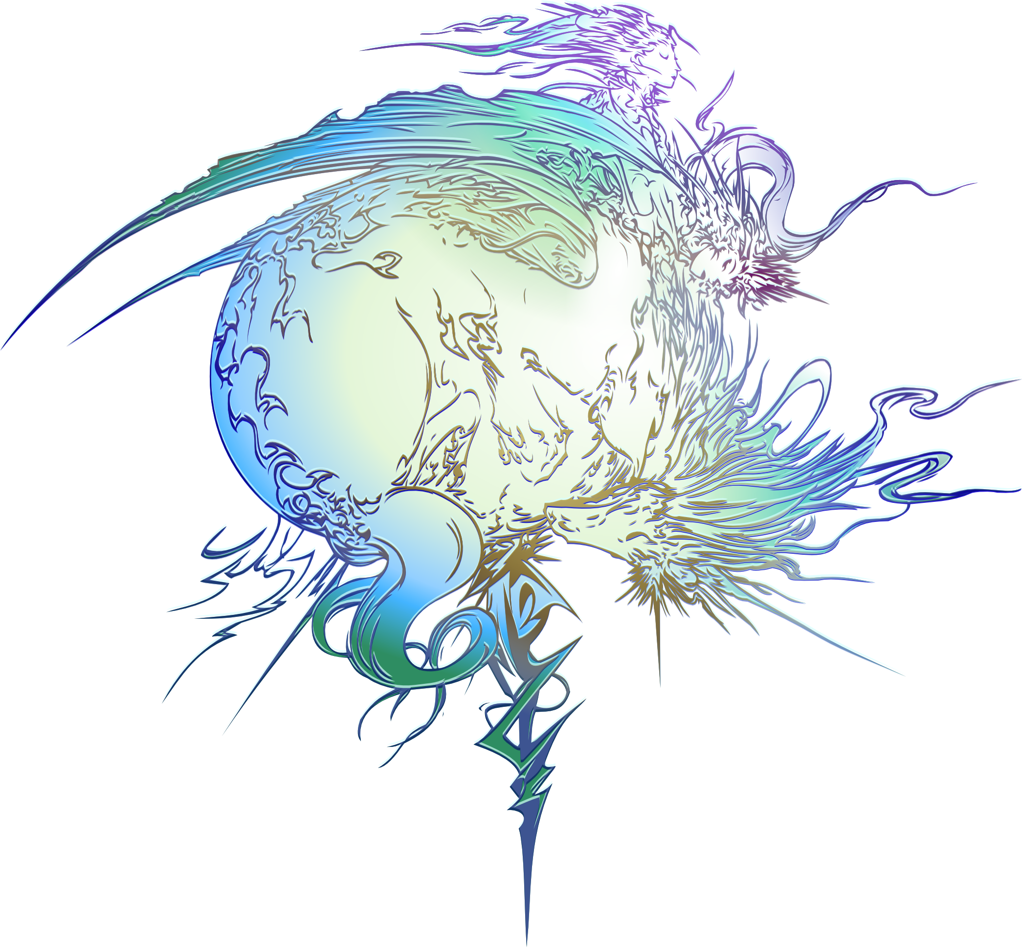 Final Fantasy XIII logo by eldi13.deviantart.com on.