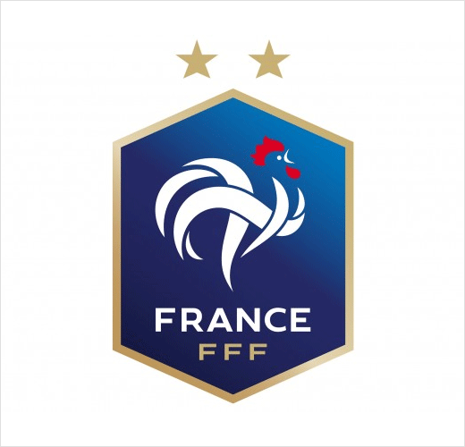 French Football Gets New Logo Following World Cup Win.