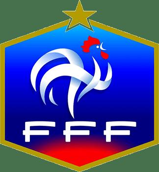 FFF France Football Logo transparent PNG.