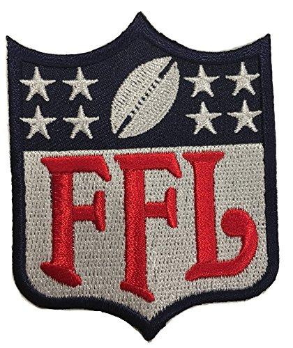 Amazon.com: Fantasy Football FFL Patch Regular Logo Blue.