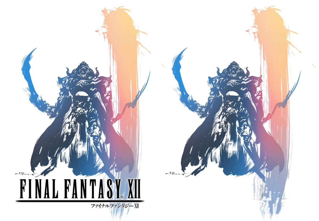 FF12 logo renders by digitaleva on DeviantArt.