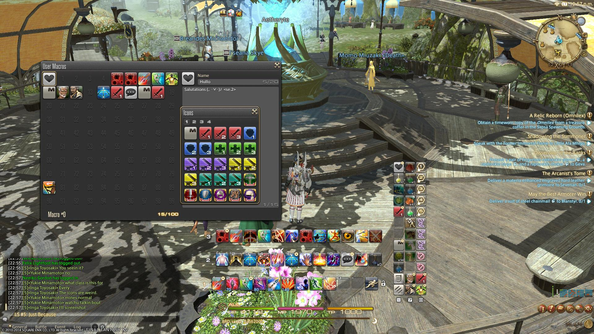 Showing post & media for Symbols ffxiv aar.