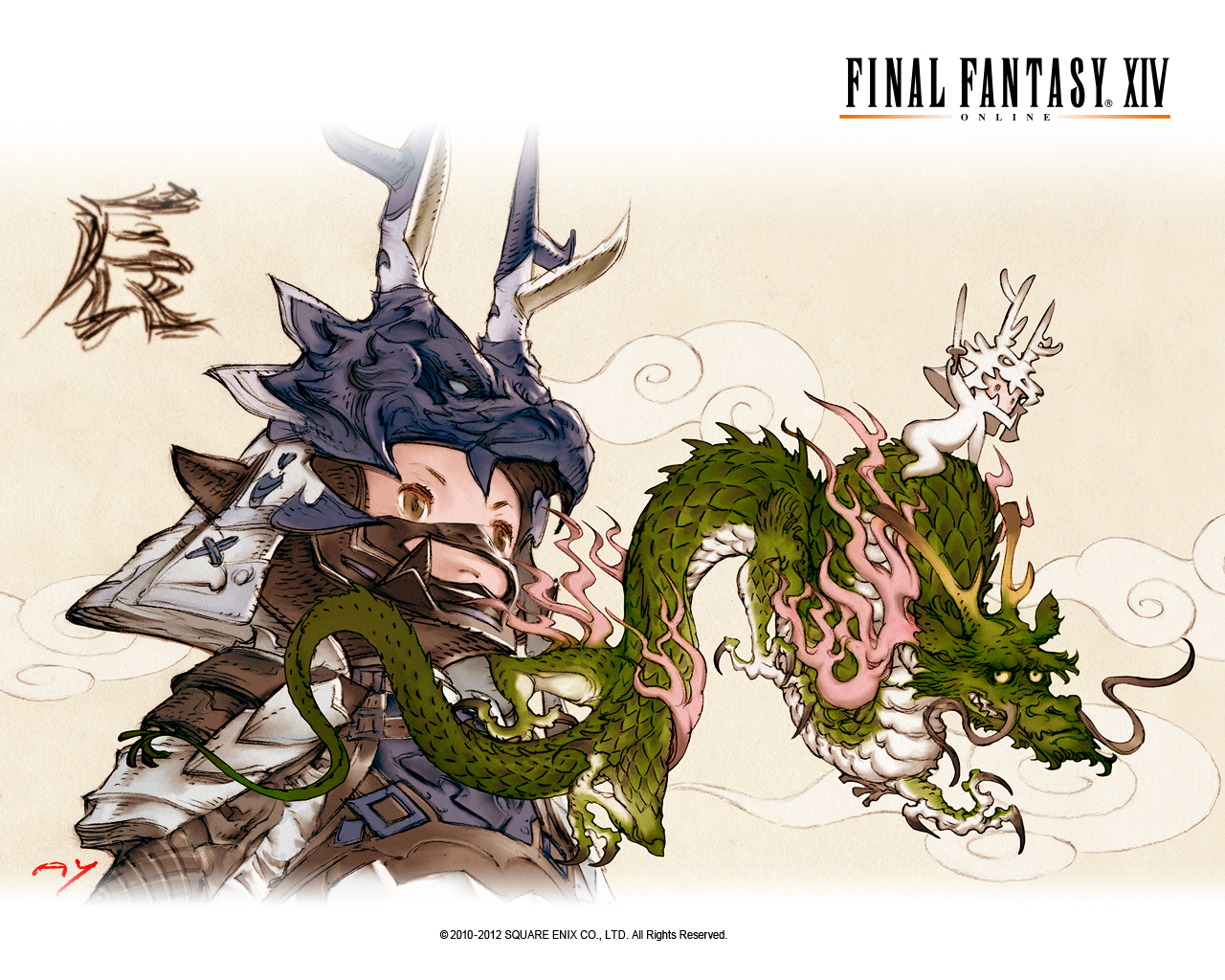 Final Fantasy XIV wallpapers.