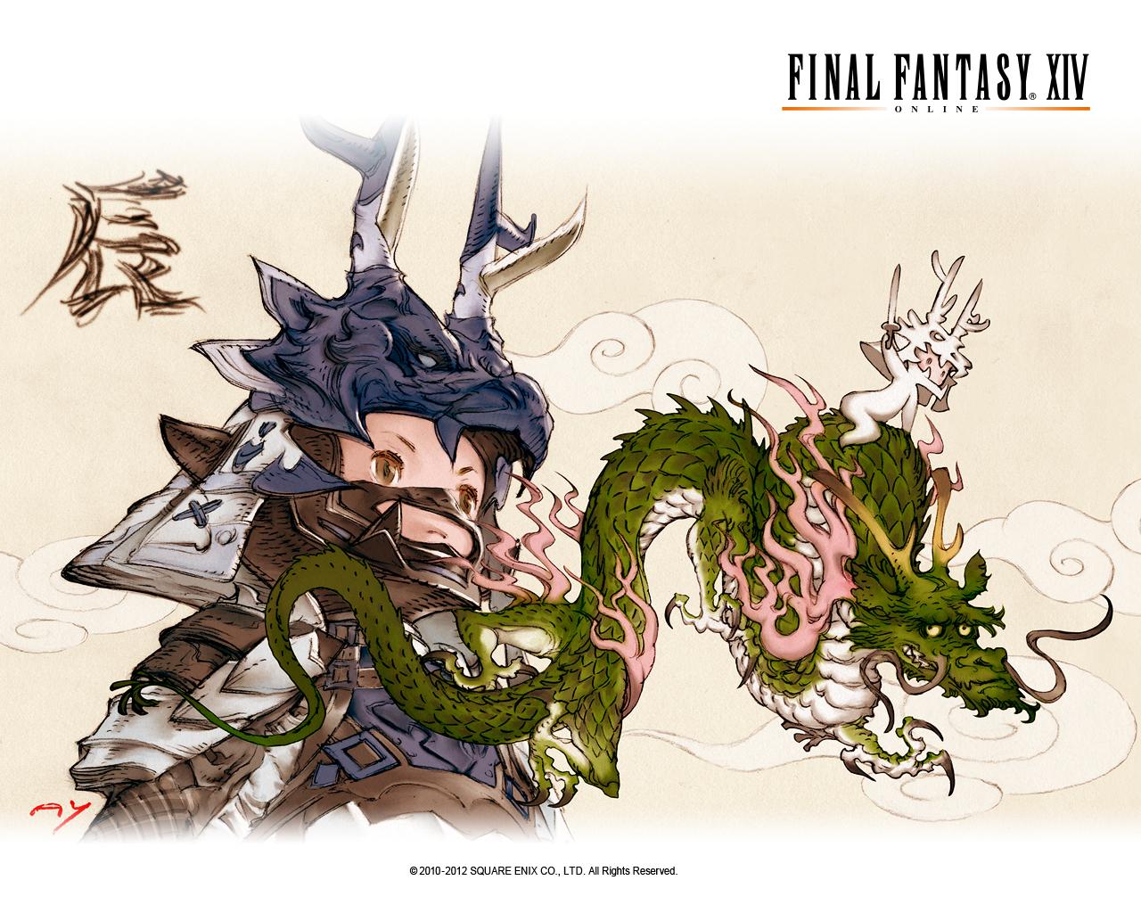Final Fantasy XIV wallpapers.