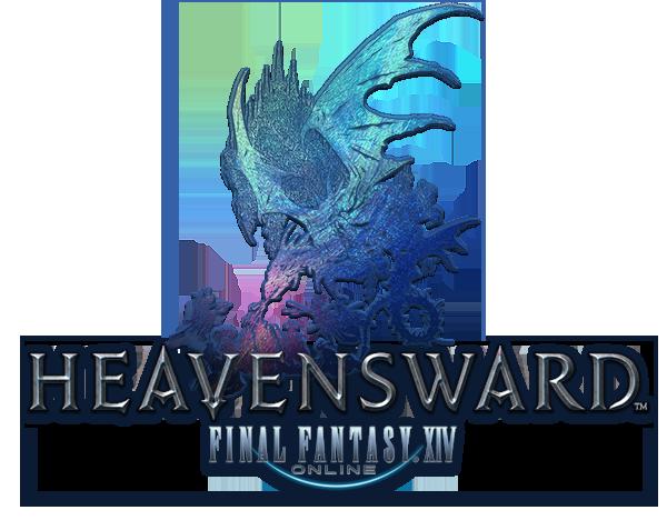 Farewell Heavensward Logo. The one thing Stormblood actually.