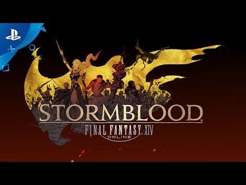 FINAL FANTASY XIV: Stormblood Game.