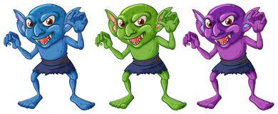 Goblins Stock Illustrations.