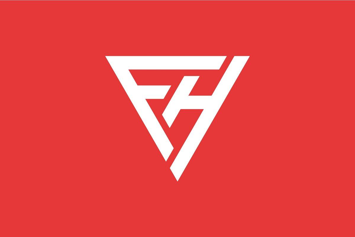 FH Logo ~ Logo Templates ~ Creative Market.