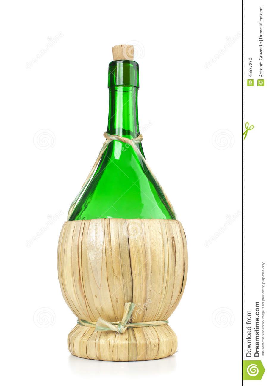Fiasco Italian Wine Bottle Stock Photo Image 45537280 #lHGjRs.