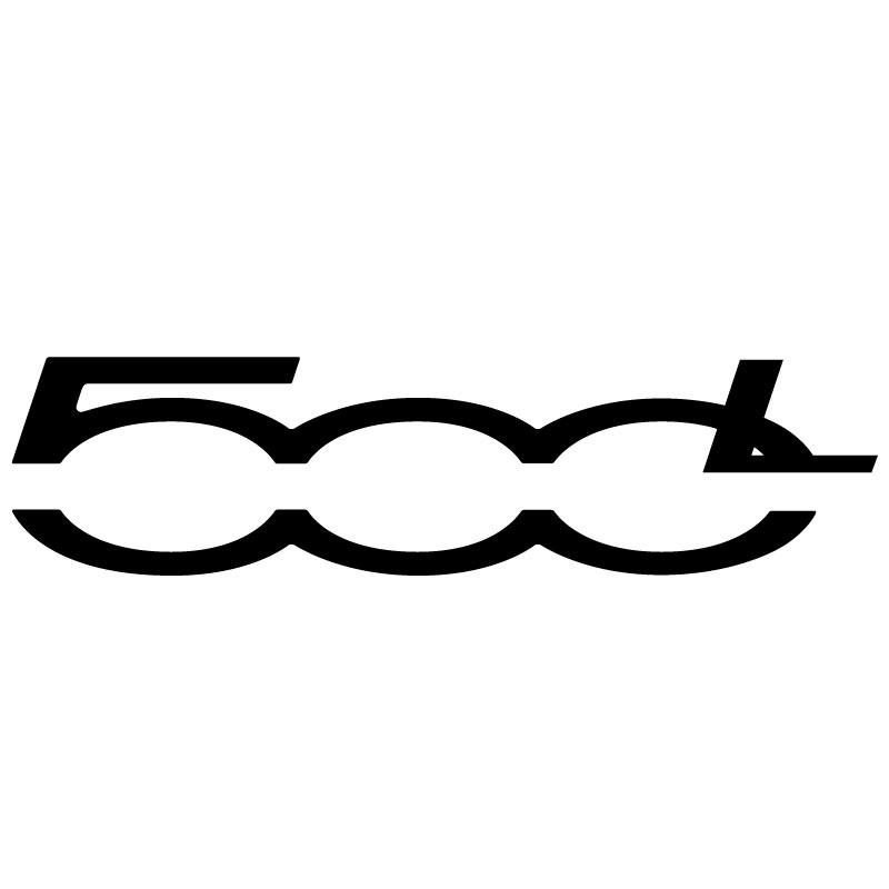 Fiat 500L Logo Decal.