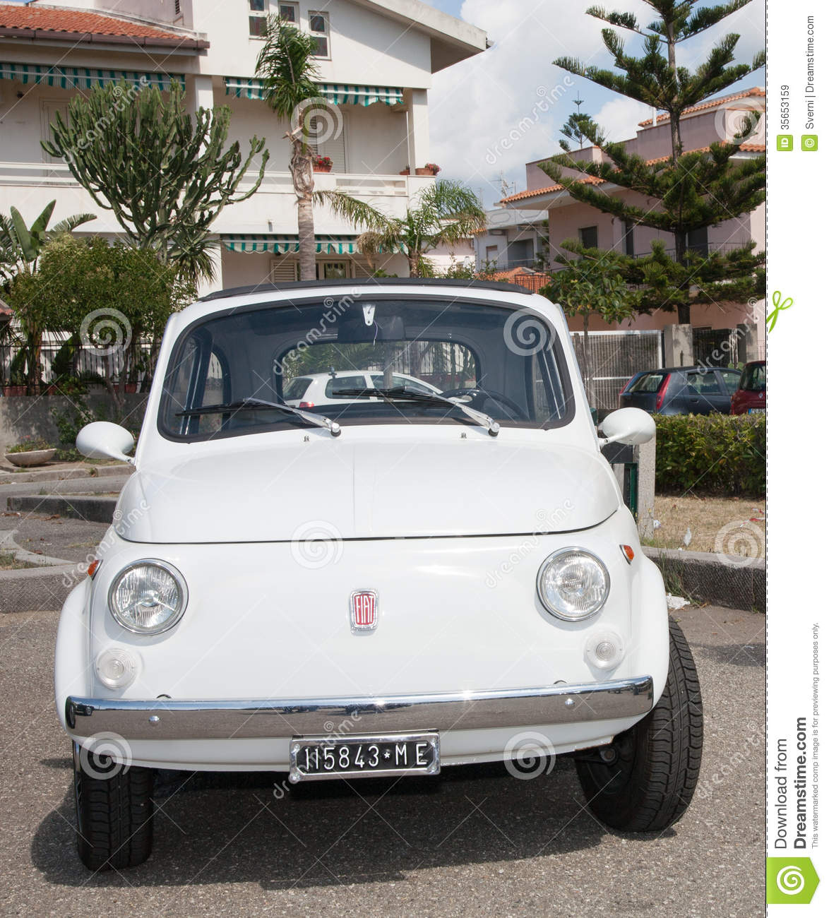 Vintage Car Fiat 500 Editorial Stock Image.